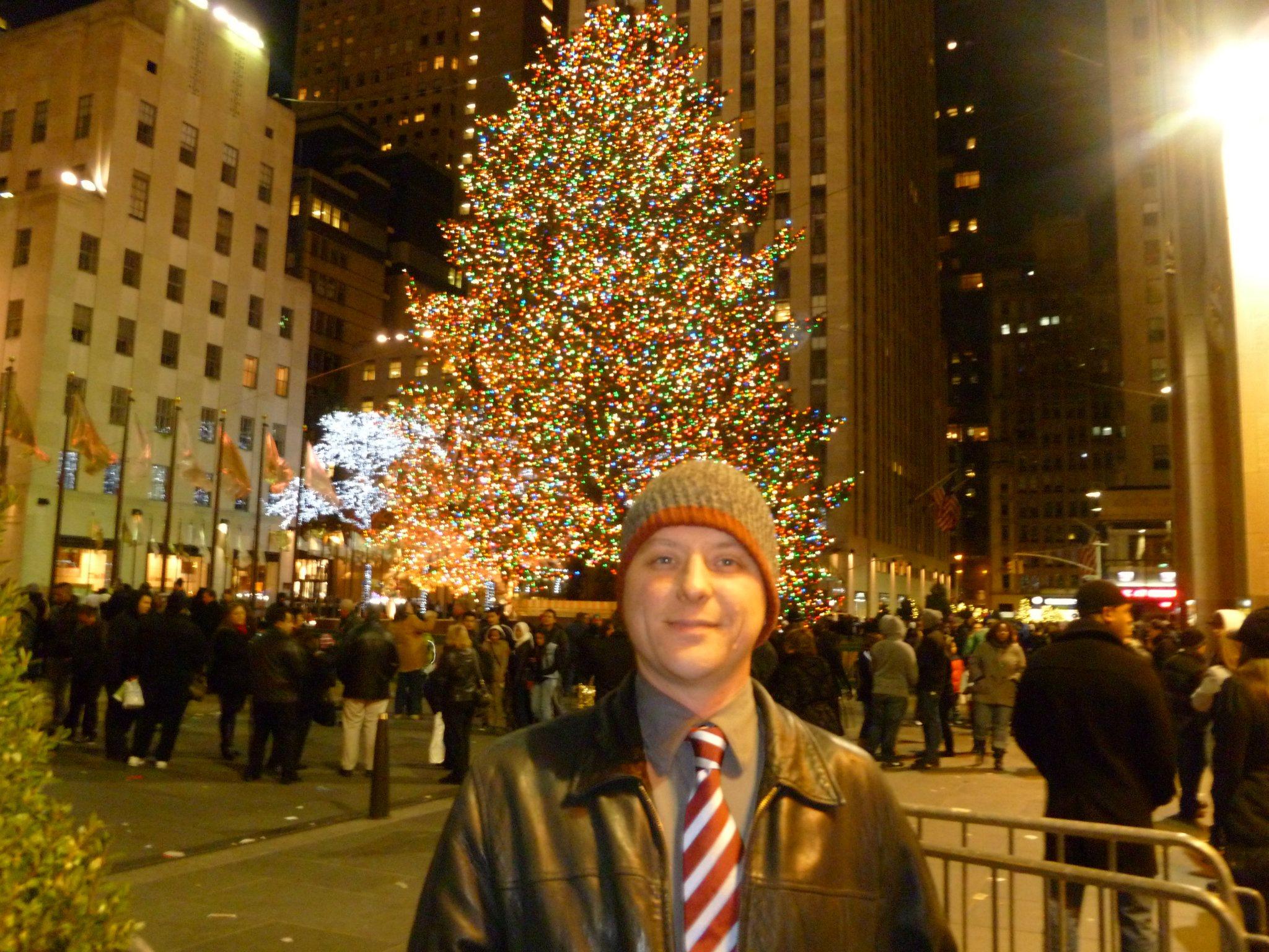 Dan and tree
