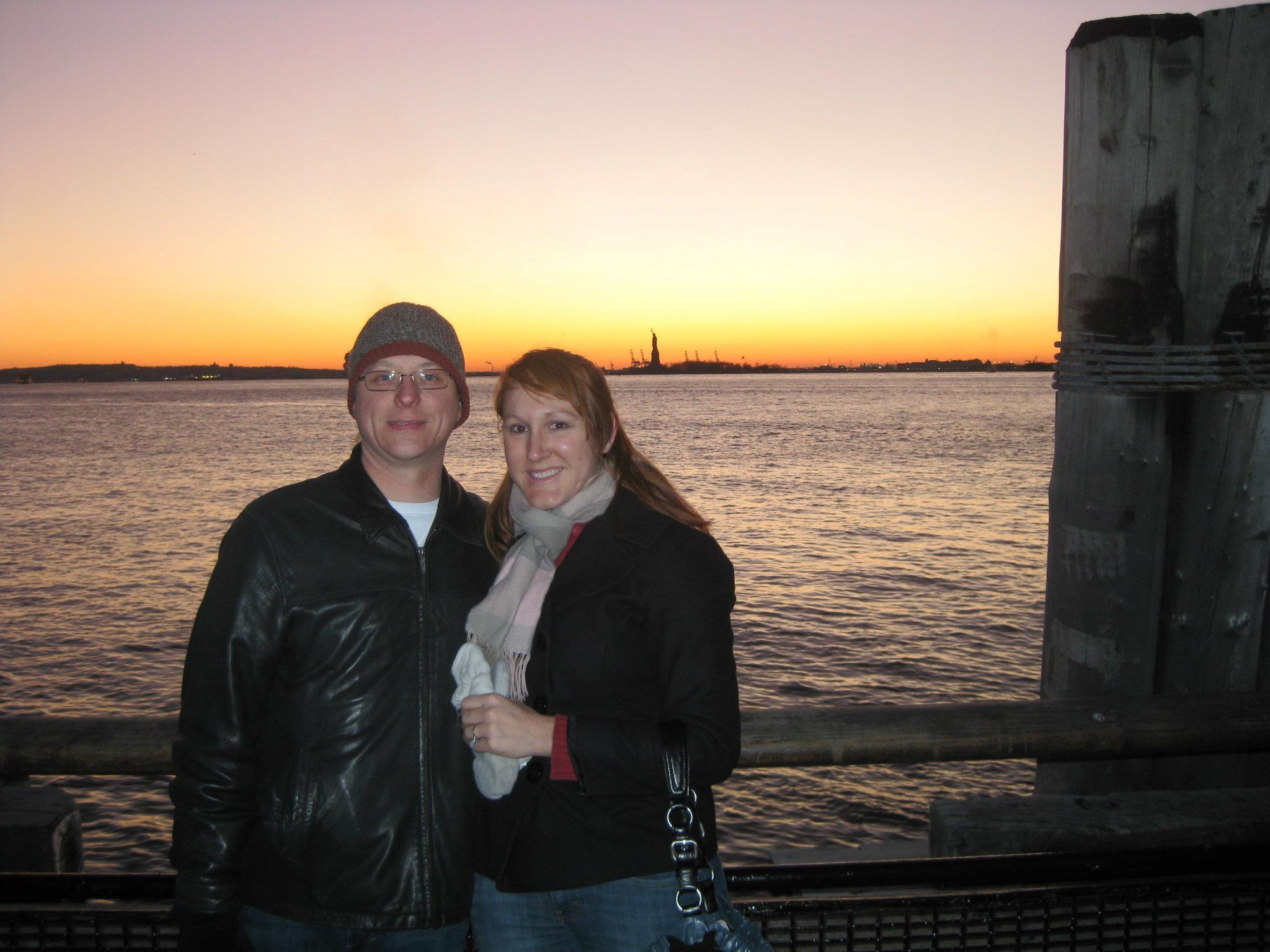 Hodan and Statue of Liberty