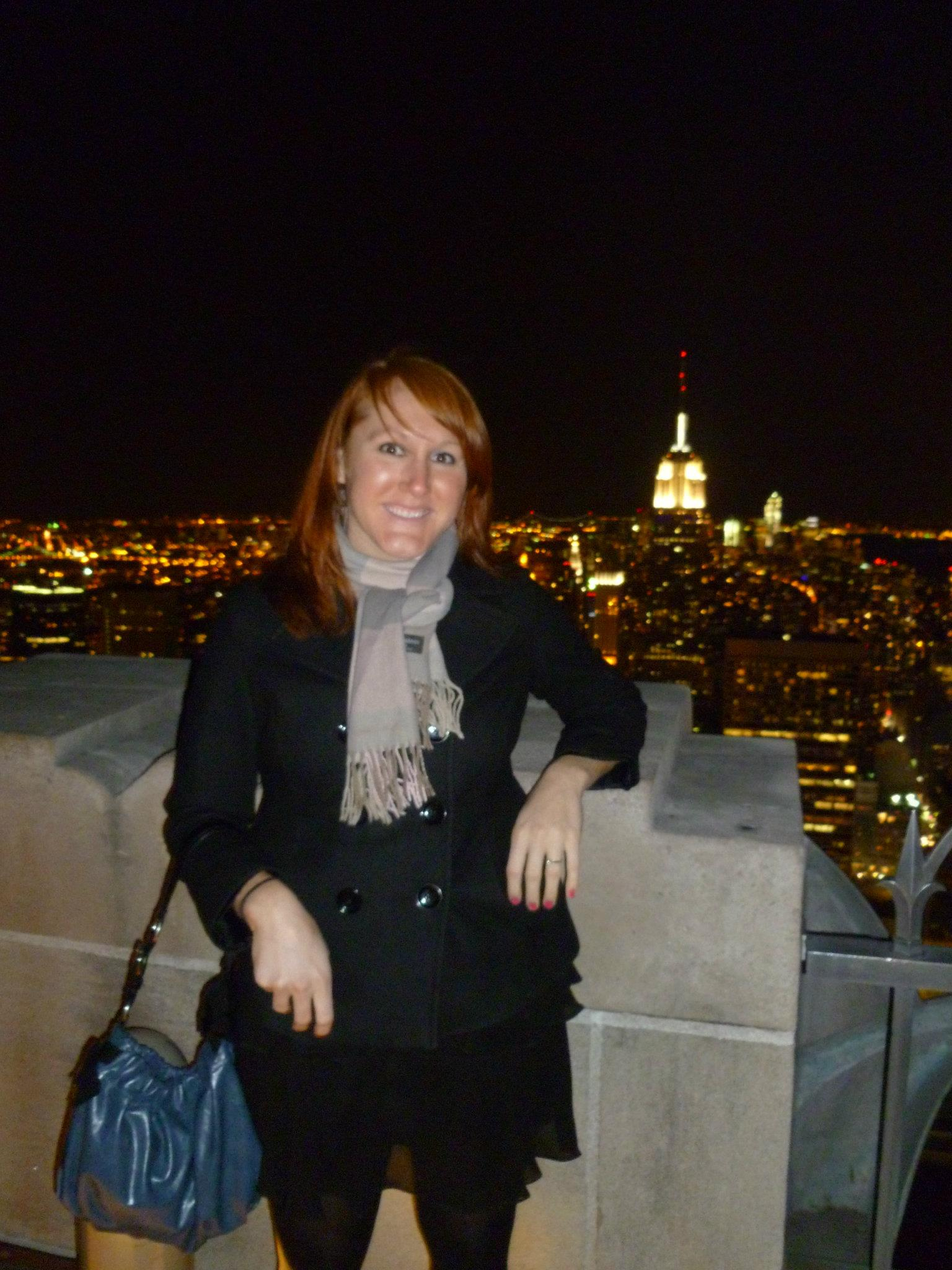Holly, The Ring and Empire State Building