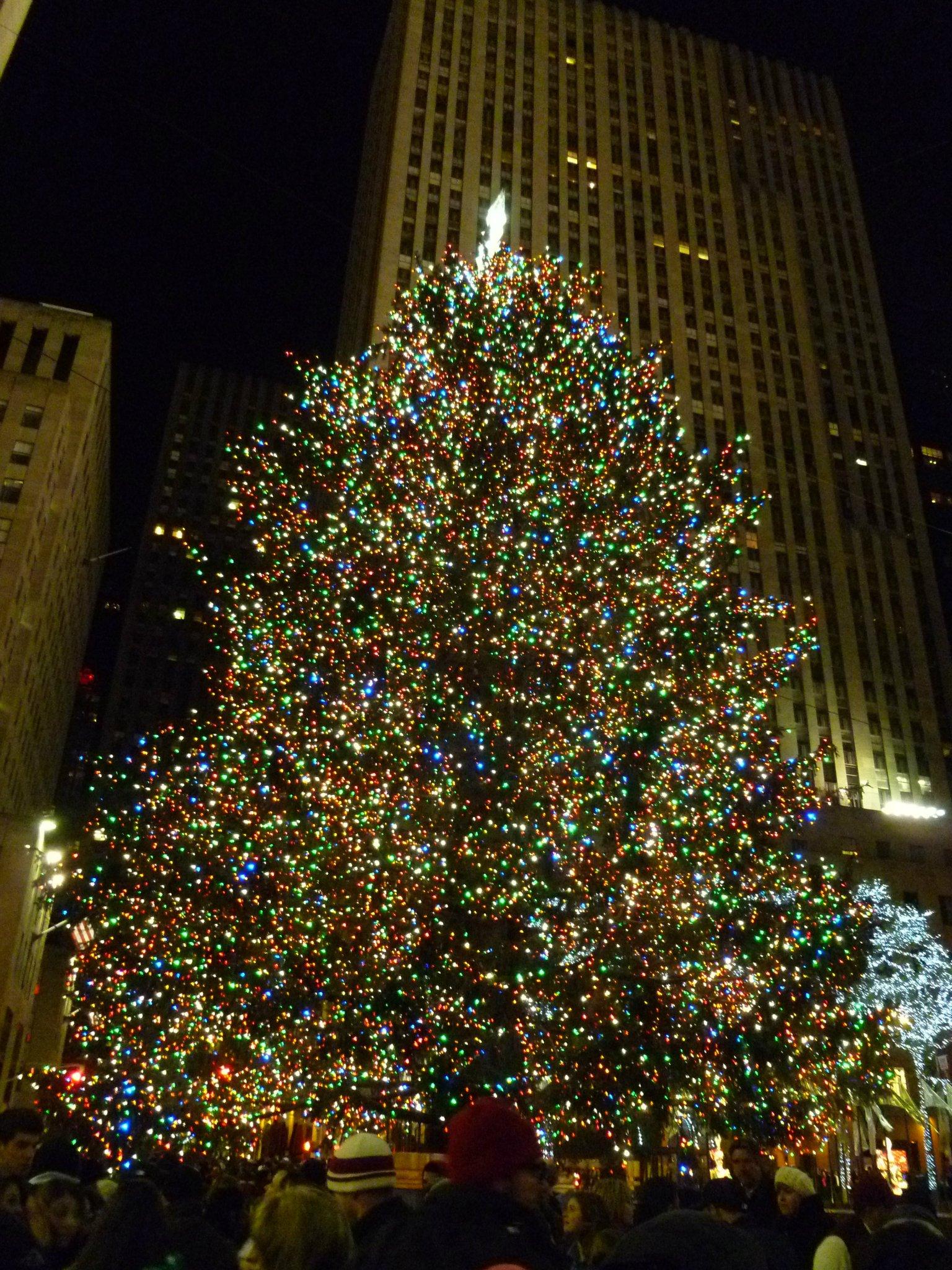 The Rockfeller Christmas Tree